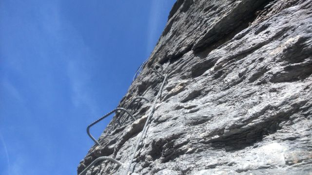 Via ferrata K4 Evolène